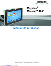 magellan maestro 4250 automotive gps receiver manuals rh manualslib com magellan maestro 3200 manual Magellan Maestro Not Turning On
