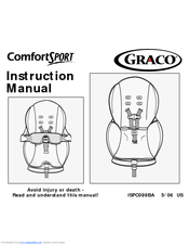 graco 1757845 comfort sport marissa manuals rh manualslib com graco milestone car seat instruction manual graco junior car seat instruction manual