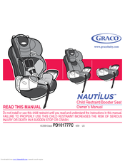 Graco 8J00MTX - Nautilus 3- In 1 Toddler Car Seat Owner's Manual