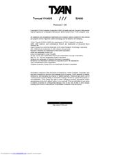 TYAN TOMCAT H1000S (S3950) WINDOWS DRIVER DOWNLOAD