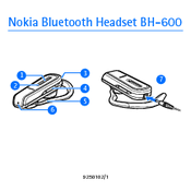 Nokia BH 600 - Headset - Over-the-ear User Manual