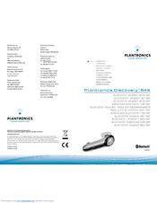 plantronics discovery 610 bluetooth headset manual