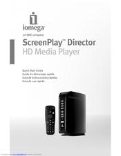 iomega 34650 screenplay director hd media player manuals rh manualslib com Stick MP3 Player Instructions Delstar MP3 Player Instructions