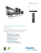Philips HTS6600/37B Home Theater Driver Download