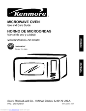 Kenmore 721.66339 Use And Care Manual