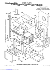 KitchenAid KEMC378KSS   ARCHITECT Series 27u0027u0027 Microwave Combination Double Wall  Oven Parts List (12 Pages)