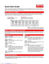 asko 1585 manuals Windows 8 Quick Start Guide TSFL Quick Start Guide