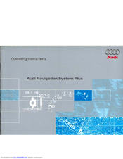 audi navigation system plus manuals rh manualslib com audi mmi navigation user manual Audi A8 Navigation