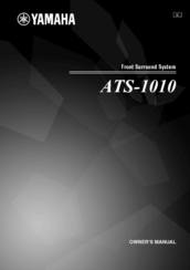 Yamaha ATS-1010 Owner's Manual