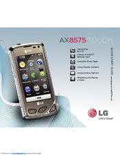 LG AX8575 DRIVERS UPDATE