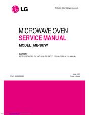 lg mb 387w service manual pdf download