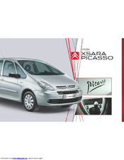 citroen xsara picasso manuals rh manualslib com Citroen C4 Picasso Citroen Xsara Picasso Exclusive