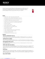 Sony walkman nwz e474 manual.