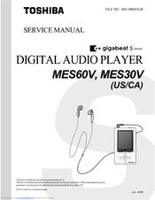 toshiba gigabeat s mes60v manuals rh manualslib com Manual for Toshiba TV 43L511u18 Toshiba TV Manual