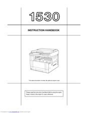 Kyocera KM-1530 Instruction Handbook Manual