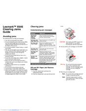 lexmark e260dn manual feed paper jam