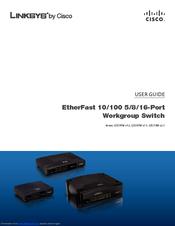 linksys ezxs88w etherfast 10 100 workgroup switch manuals rh manualslib com Linksys 8-Port Linksys BEFSR41