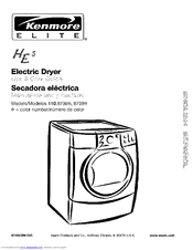 KENMORE HE5 Use & Care Manual