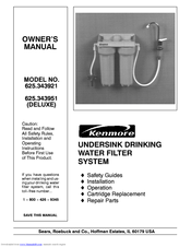 KENMORE 625.343951 Deluxe Manual