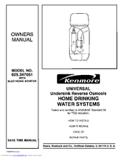 KENMORE 625.347051 Manual