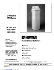 KENMORE 625.348491 Manual