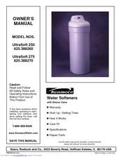 kenmore ultrasoft 200 water softener manual