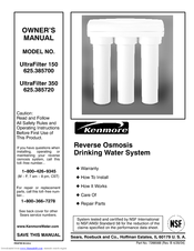 KENMORE UltraSoft 350 Owner's Manual