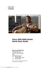 Cisco 5510 - ASA SSL / IPsec VPN Edition Quick Start Manual