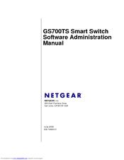 NETGEAR GS724TS - PROSAFE 24 PORT GIGABIT STACKABLE SMART SWITCH
