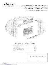 399537_ecs130sch_product dacor ecs230sch manuals  at bakdesigns.co