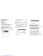 netgear hookup instructions 2 power up d f e connect the yellow ethernet cable outletfrom the ethernet port on your modem/gateway to the ethernet port on your pc connect the black power adapter from the power port on.