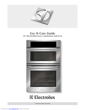 Electrolux E30MC75JSS Use And Care Manual