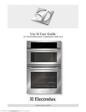 Electrolux E30MC75JSS Use And Care Manual