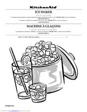 Kitchenaid KUIC15NRXS Manuals on