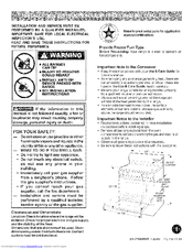 Kenmore 4812 - Elite 27 in. Double Wall Oven Installation Instructions Manual