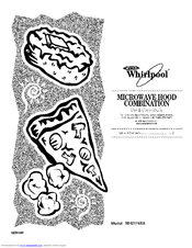 whirlpool mh2175xs manuals rh manualslib com Whirlpool Microwave Replacement Parts Whirlpool Over Range Microwave Ovens
