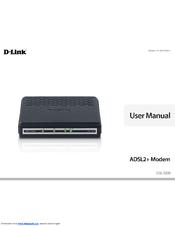 Adsl2+ ethernet modem (dsl-520b) | d-link.