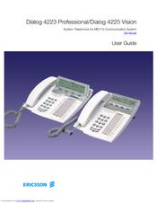 Ericsson Dialog 4225 Vision Manuals border=