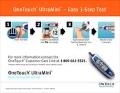 lifescan onetouch ultramini manuals rh manualslib com alcatel one touch idol mini manual pdf one touch ultra mini user manual