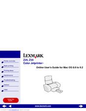 Solved: lexmark z25 printer fixya.
