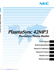 Nec plasmasync 42mp3 overview cnet.