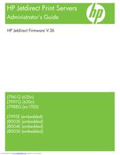 HP 635N - JETDIRECT IPV6/IPSEC PRINT SERVER ADMINISTRATOR'S
