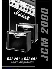 marshall amplification jcm 200 dsl 401 manuals. Black Bedroom Furniture Sets. Home Design Ideas