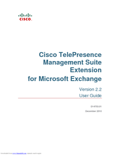 cisco telepresence management suite extension 2 2 for microsoft rh manualslib com Report Manager Management Support