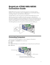 Epson BrightLink 480i Connection Manual