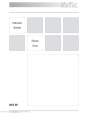 moffat mss601x manuals moffat mss601x instruction booklet