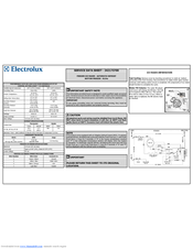 Electrolux EI23BC60KS Service Data Sheet