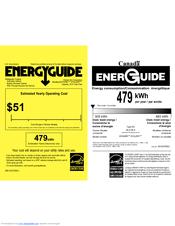 KitchenAid KFXS25RYMS Energy Manual