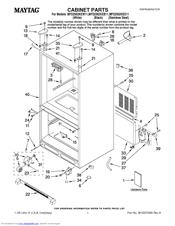 maytag mfd2562keb bottom freezer refrigerator manuals rh manualslib com Maytag Refrigerator Problems Maytag Refrigerator Troubleshooting