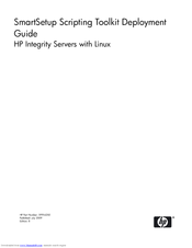 HP Integrity rx4610 Deployment Manual